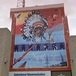 Native American mural (StreetView)