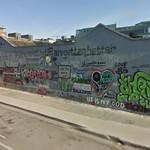 U2 graffiti wall