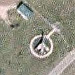 North American F-100 Super Sabre (Google Maps)