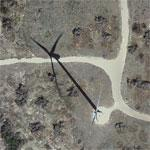 Buffalo Gap Wind Farm (Google Maps)