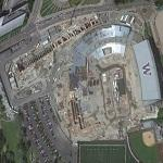 Tunnel Boring Machine Launching Trench & Husky Stadium Demo (Google Maps)