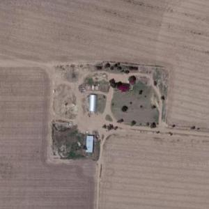 Clutter Farm of Capote's 'In Cold Blood' notoriety (Google Maps)