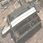 Collasped Buran Space Schuttle Hanger (Google Maps)