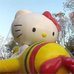 Hello Kitty parade balloon (StreetView)