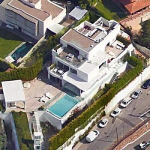 Shakira and Gerard Piqué's house (Google Maps)