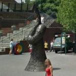 'Resonating Bodies' by Tony Cragg (StreetView)