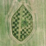 A piece of checker board (Google Maps)