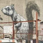 'Squirrel' by ROA