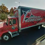 Carolina Hurricanes truck (StreetView)