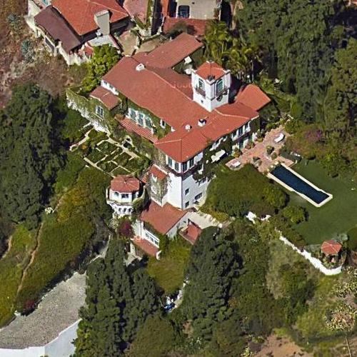 Madonna's House (former) In Los Angeles, CA (Google Maps
