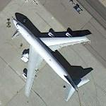 Rolls-Royce Boeing 747 Flying Test Bed trent 1000