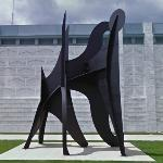 'Young Woman and Her Suitors' by Alexander Calder (StreetView)