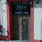 Hells Angels clubhouse in Barcelona