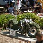 Harley-Davidson Motorcycle Topiary (StreetView)
