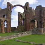 Ruins of Lindisfarne Priory (StreetView)