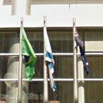 Flags of Great Britain & Brazil (StreetView)