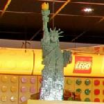 Lego Statue of Liberty (StreetView)