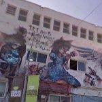 Large Grafitti mural (StreetView)