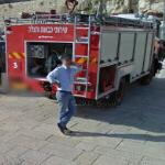 Israel Fire & Rescue Services vehicle