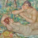 'The Bathers' by Pierre-Auguste Renoir
