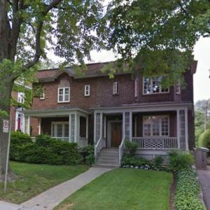 Leonard Cohen's Childhood Home (StreetView)