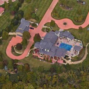Bill Self's House (Google Maps)