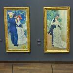'Country Dance' & 'City Dance' by Pierre Auguste Renoir (StreetView)