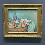 'Still Life with Onions' by Paul Cézanne