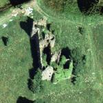 Auchans Castle (Google Maps)