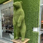 Bear sculpture (StreetView)