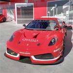 Dream Racing Ferrari race car
