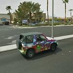 Kermit, Fozzie & Gonzo Painted Suzuki