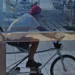Google trike rider