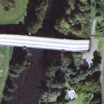 Modern aqueduct over the River Severn (Google Maps)