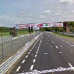 Chimay Street Circuit Start/Finish Line