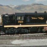 Heber Valley RR Diesel #1813
