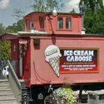 Moser's Ice Cream Caboose