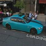 """Al-Thani"" Turquoise Maserati Quattroporte GTS"