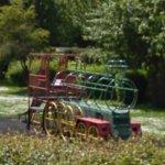 Locomotive shaped playground equipment (StreetView)