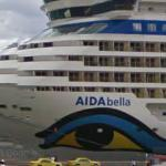 AIDAbella & MS Independence of the Seas (StreetView)