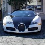 Bugatti Veyron Grand Sport (Pearl White and Uni Black)
