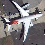 Boeing 787 - Air India (Google Maps)