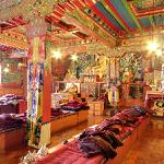 Inside view of the Tengboche Monastery
