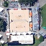 Beach Volleyball Match (Google Maps)