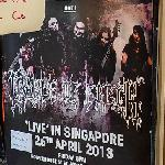 Cradle of Filth - Live in Singapore (StreetView)