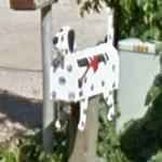 Dalmatian Mailbox