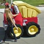 Women prefer a small truck