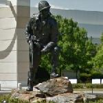 """Iron Mike"" statue"