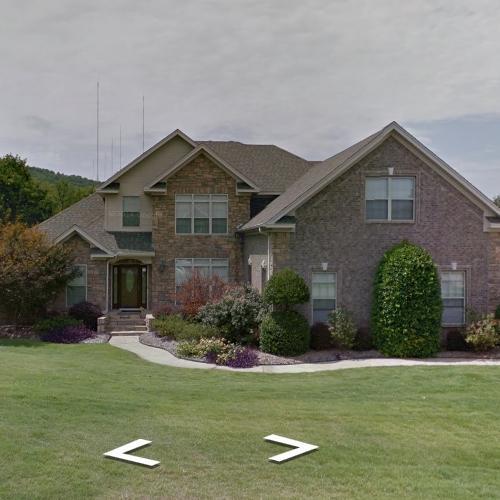 Joe Johnson's House In Little Rock, AR (Google Maps