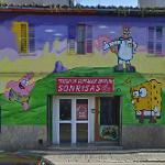 Sponge Bob mural
